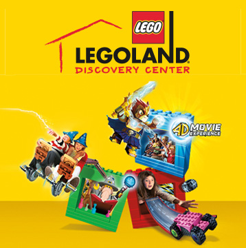 20% Off Single-Day Tickets at LEGOLAND® Discovery Centers