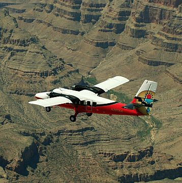 $75 off on a Grand Canyon Airplane Air Tour