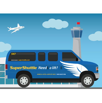 Save 10% at SuperShuttle Airport Rides