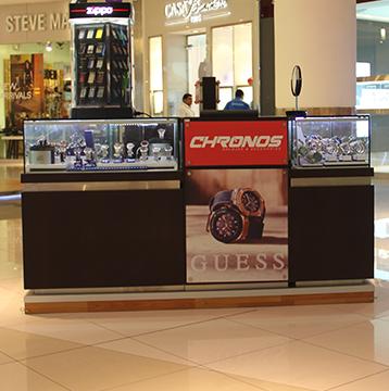 Hasta 30% de descuento en códigos seleccionados de relojes Guess pagando con Visa en Chronos.