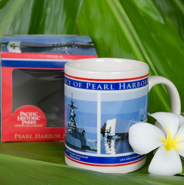 Free Pearl Harbor Coffee Mug with Adult Admission to Pearl Harbor Visitor Center Tour in Hawaii!