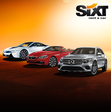 Save Up to 10% at Sixt Rent a Car in over 105 Countries Worldwide!