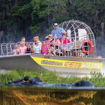 Save 20% on All 1-Hour Airboat & Gator Park Combo Tickets!