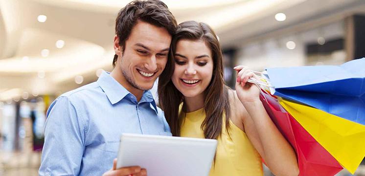 Compra online en USA y Europa con tarjetas Visa y envía con SkyBOX.
