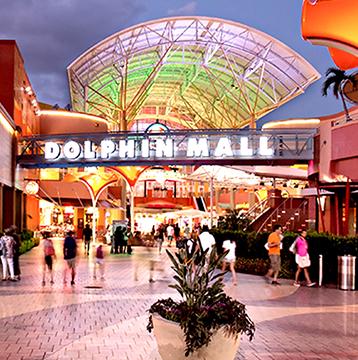 Miami + Visa + Dolphin Mall = Descontos, benefícios e comodidade!