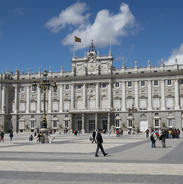 Visit Madrid. The plan includes transportation, tours and accommodation.