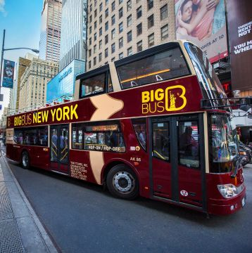 Save 15% on Big Bus New York Tour Tickets
