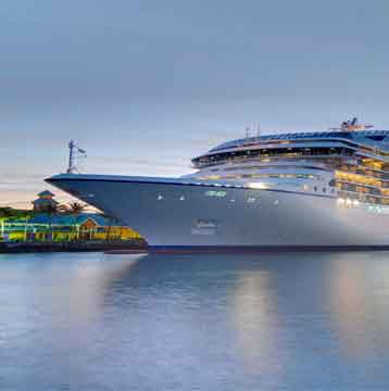 Spending credit of up to $500 per stateroom on select departures.