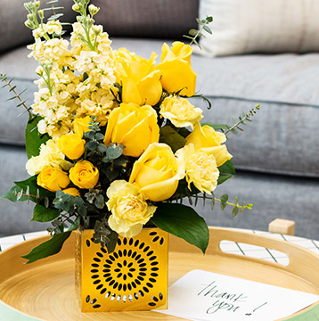 Save 25% on hand arranged bouquets from Teleflora.