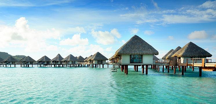 Viva la magia y el romance de la Polinesia Francesa, lugar ideal para lunas de miel.