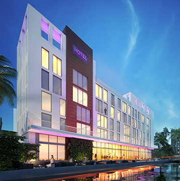 Enjoy your stay at the Residence Inn Miami Beach South Beach, one of the most modern hotels in Sunset Harbour.