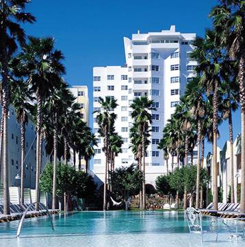 Visa offers you a free night at the Delano South Beach.